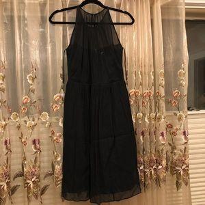 J. Crew Megan Silk Chiffon Dress